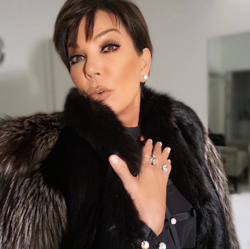 kris jenner dress