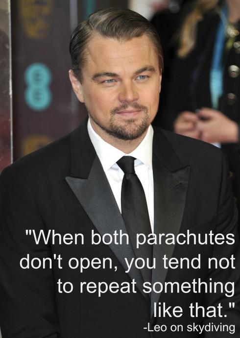 Leonardo DiCaprio BTN