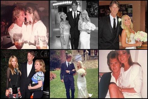 Paris Hilton Monty Brinson memorial photos