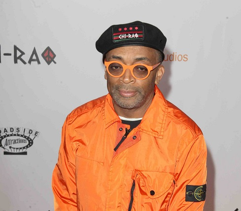 Director Spike Lee of Chi-Raq at New York film premiere