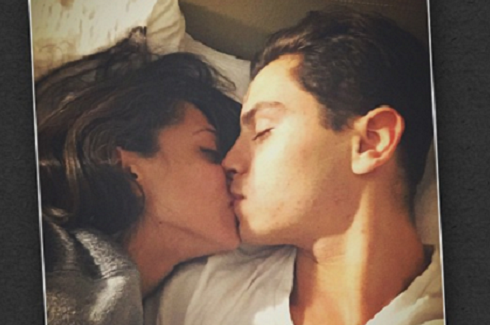 Jake T Austin and Danielle Caesar instagram