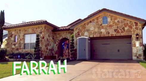 Farrah Abraham porta potty