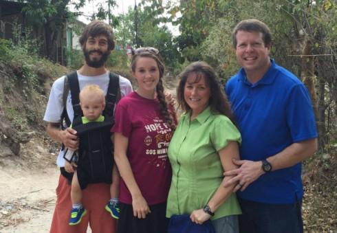Jim Bob and Michelle Duggar in Central America
