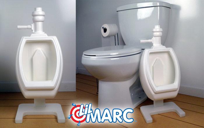 Lil Marc potty training urinal