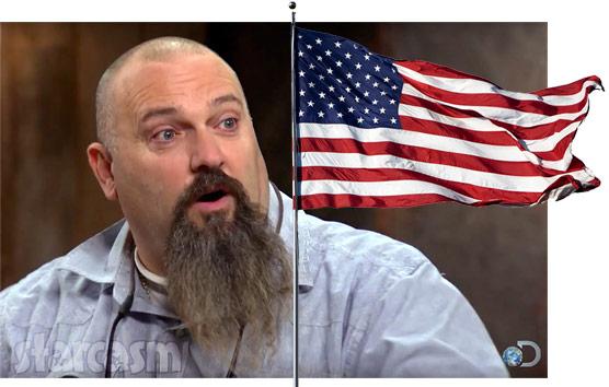 Todd Hoffman American flag