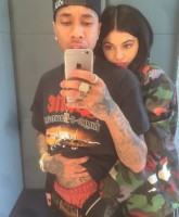 Tyga and Kylie 2