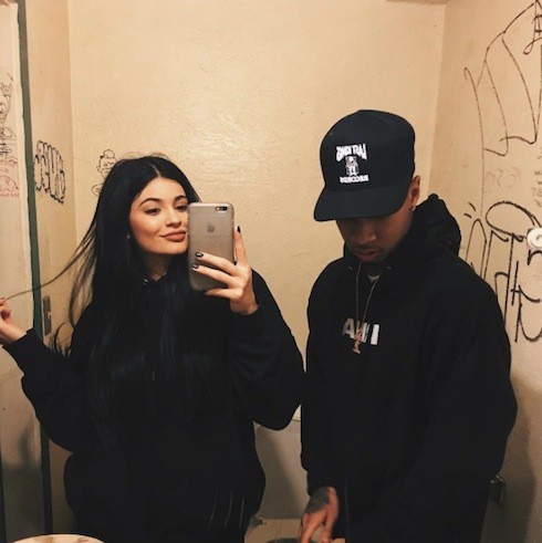 Tyga and Kylie 3