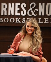Chrissy Teigen Book Signing for Cravings: Recipes For All The Food You Want To Eat