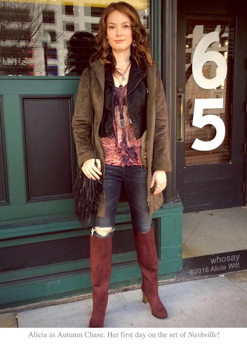 Alicia Witt as Autumn Chase on Nashville ABC