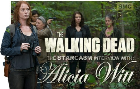 Alicia Witt The Walking Dead interview