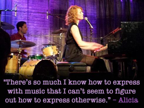 Alicia Witt music quote