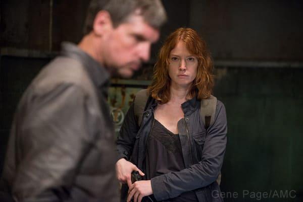 Alicia Witt on The Walking Dead