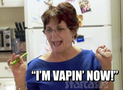 Teen Mom 2 Babs Evans I'm Vapin' Now