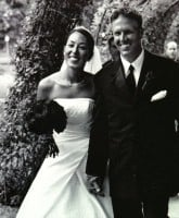 Chip and Joanna Gaines wedding photo