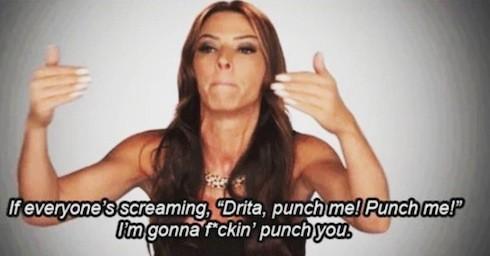Drita and Karen Twitter war 3