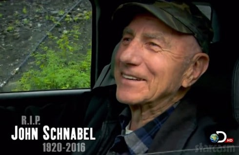 Gold Rush RIP Grandpa John Schnabel