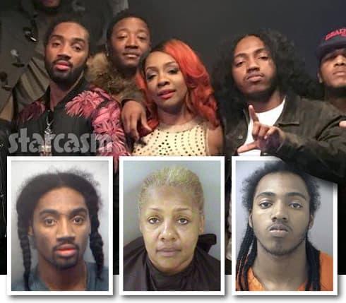 Love and Hip Hop Atlanta Karen KK King Scrapp DeLeon Sas arrests
