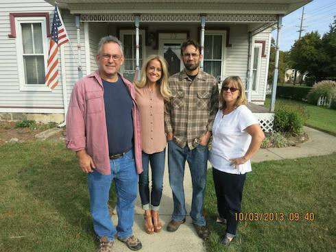 Curtis family from left to right here s nicole s father rodney nicole