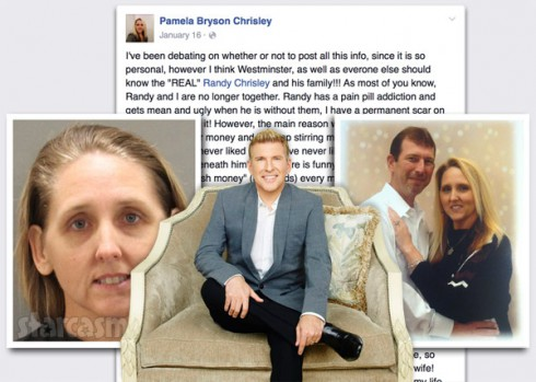 Todd Chrisley sister-in-law Pamela Chrisley arrest Facebook post