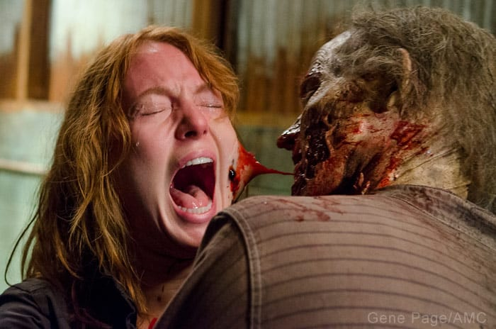 The Walking Dead Interview with Alicia Witt! On Paula ...