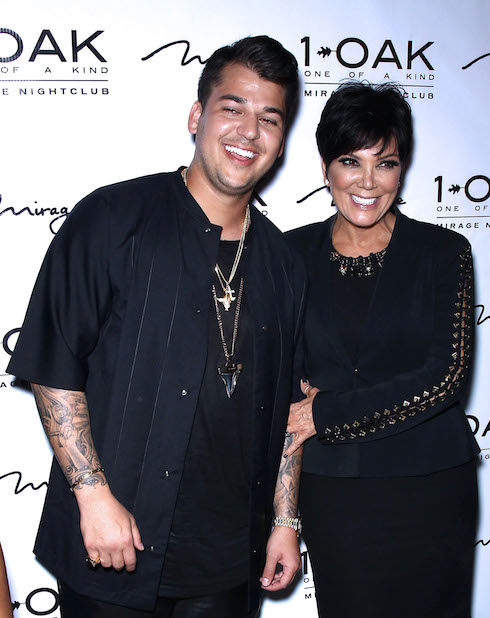 Archive photos of Rob Kardashian at various events in Las Vegas, NV and NYC. Pictured: Rob Kardashian, Kris Jenner Ref: SPL1009788 270415 Picture by: Photo Image Press / Splash News Splash News and Pictures Los Angeles: 310-821-2666 New York: 212-619-2666 London: 870-934-2666 photodesk@splashnews.com