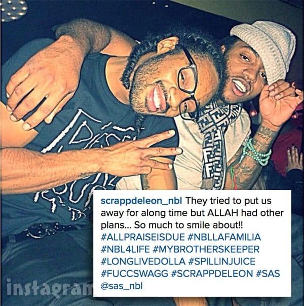 Love & Hip Hop Atlanta Sas Scrapp DeLeon