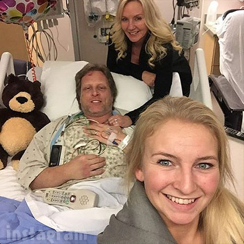 Sig Hansen heart attack hospital photo