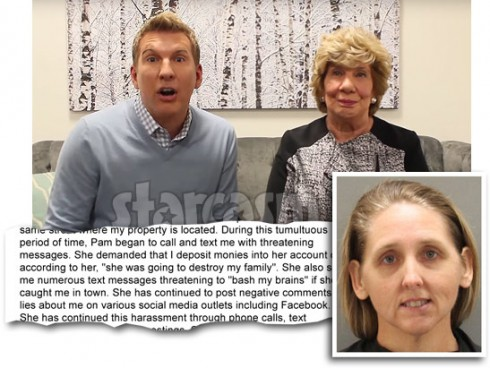Todd and Faye Chrisley say Pam Chrisley threatened and blackmailed them