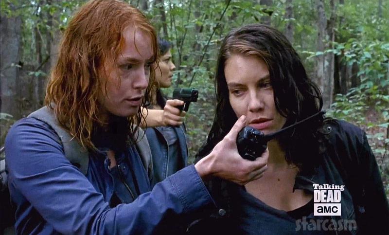The Walking Dead Alicia Witt Saviors