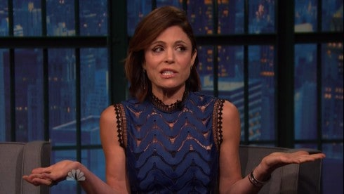 Bethenny Frankel Interviews Alone