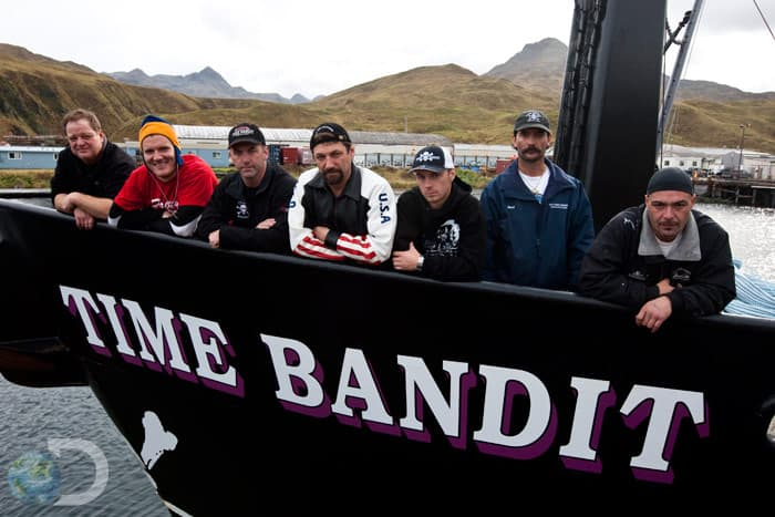 Deadliest Catch Time Bandit crew