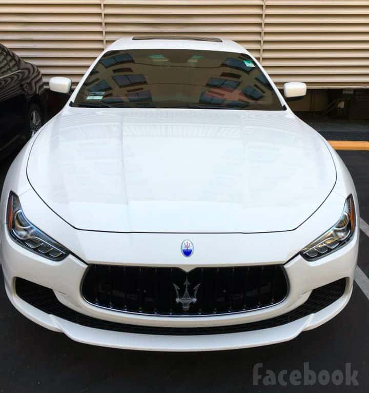 Farrah Abraham new car Maserati