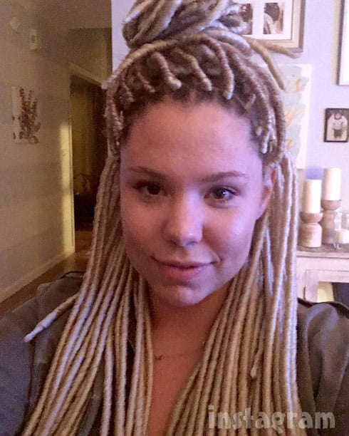 Photos Kailyn Lowry Gets Dreadlocks Starcasm Net