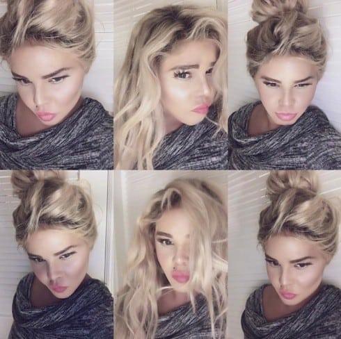 Lil Kim's new look 4