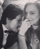 Lindsay Lohan and Boyfriend Egor