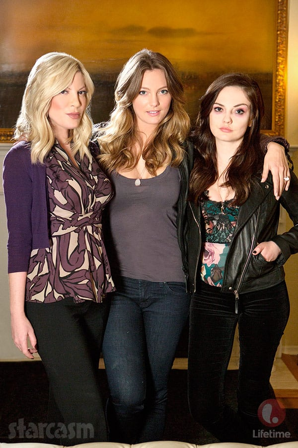Mother May I Sleep With Danger Lifetime Tori Spelling Leila George and Emily Meade