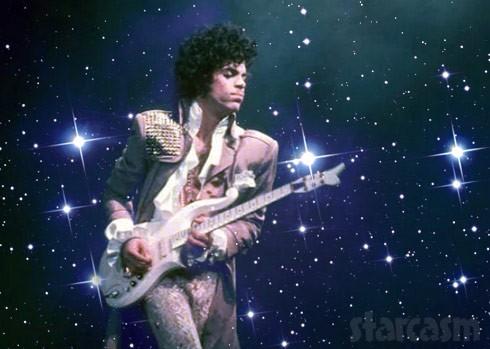 Prince guitar stars