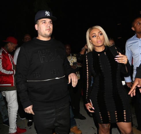 Blac Chyna Shows Off Her Engagement Ring As She Goes To The Ace Of Diamonds Strip Club With Rob Kardashian