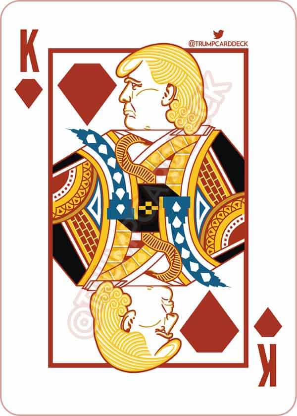 donald trump playing card deck to feature tila tequila