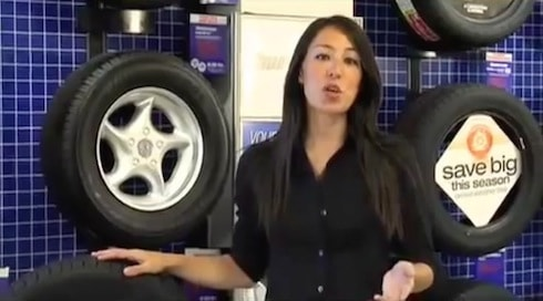 joanna gaines age and throwback firestone tire commercial. Black Bedroom Furniture Sets. Home Design Ideas