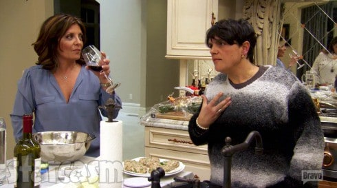 Kathy and Rosie RHONJ