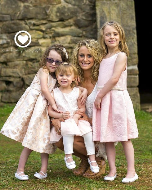 Leah Messer daughters family photo
