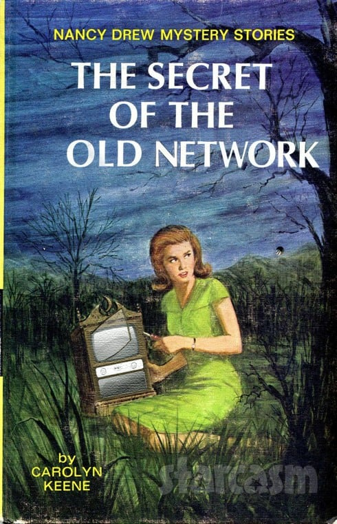 Nancy Drew Secret of the Old Network book cover