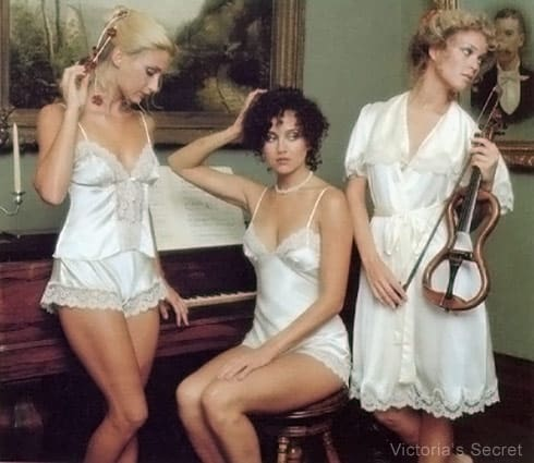 Old Victoria's Secret catalog photo