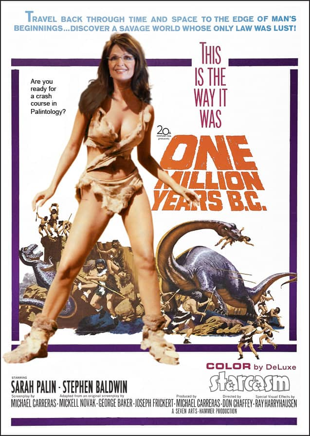 Sarah Palin One Million Years BC