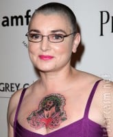 Sinead O'Connor Jesus tattoo