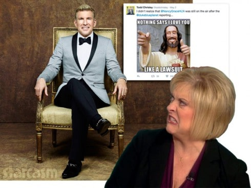 Todd Chrisley Nancy Grace lawsuit