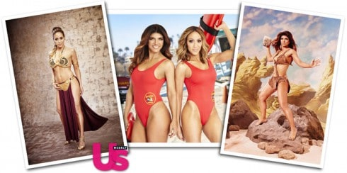 Us Weekly Hot Bodies Issue Melissa Gorga Teresa Giudice Baywatch Princess Leia One Million Years BC