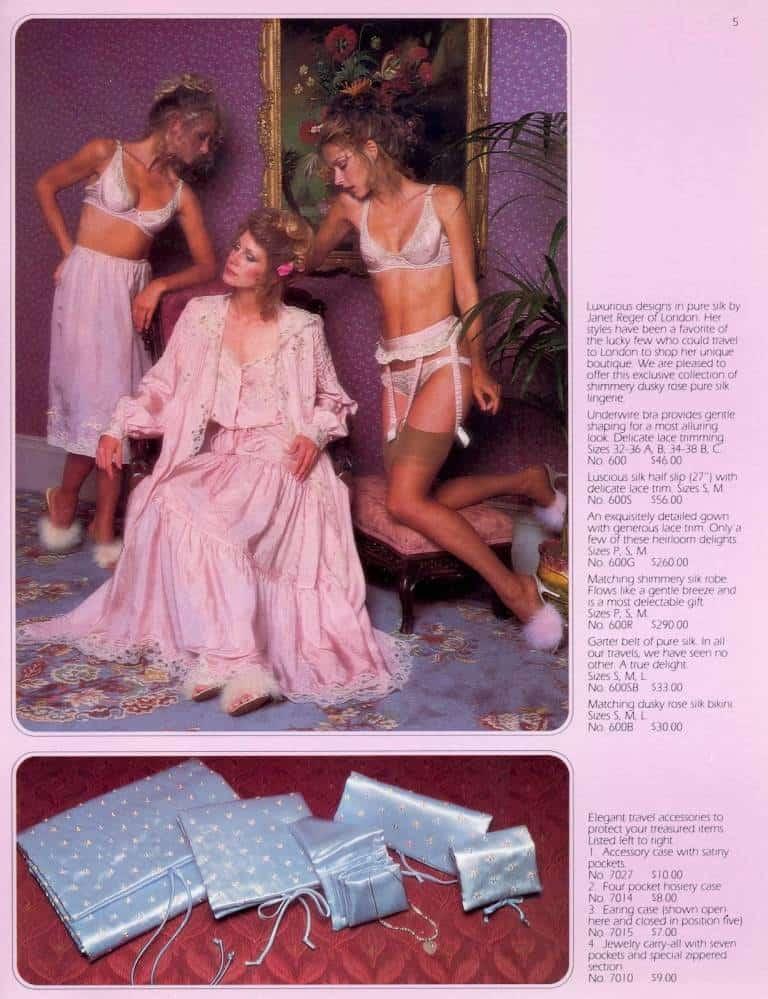 Victoria's Secret ad 1970s