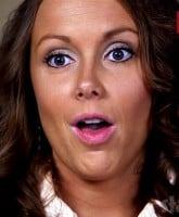 Anna Duggar funny face